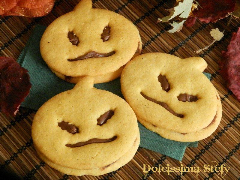 Biscotti di Halloween alla Nutella,ricetta Biscotti di