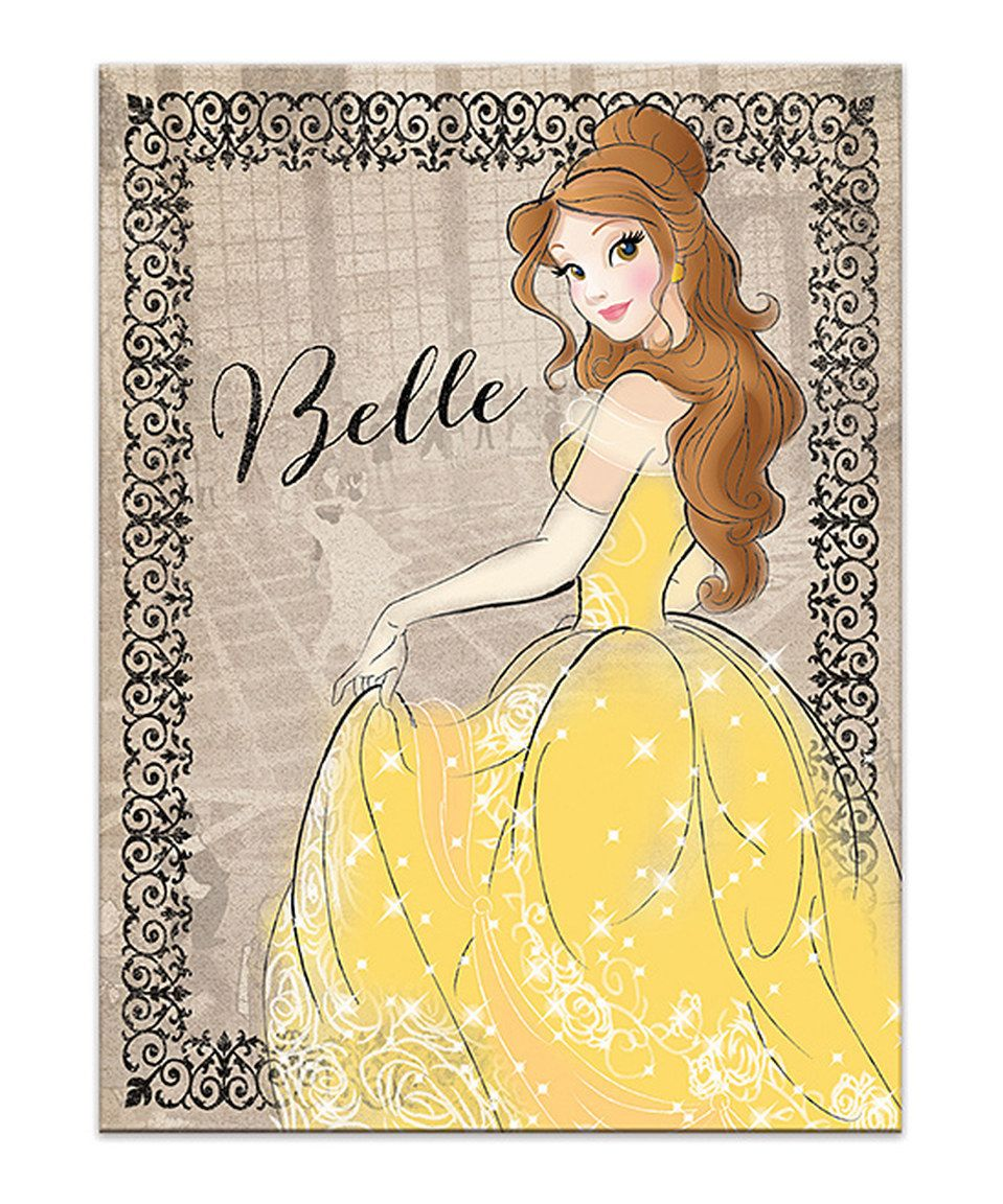 This Belle Vintage Wrapped Canvas by Artissimo Designs is perfect ...