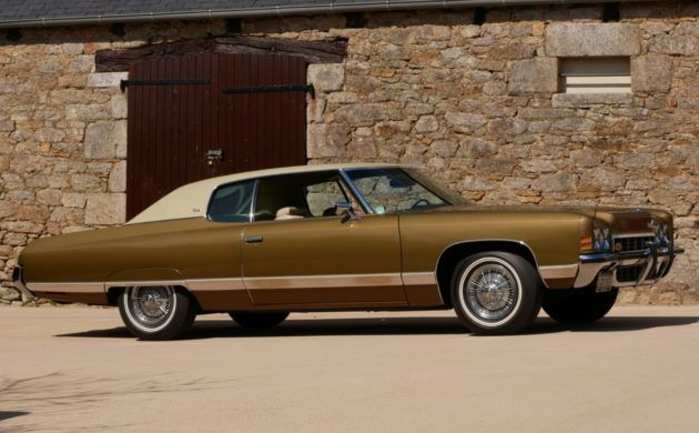 American In Quimper! Big Block 1972 Chevrolet Caprice