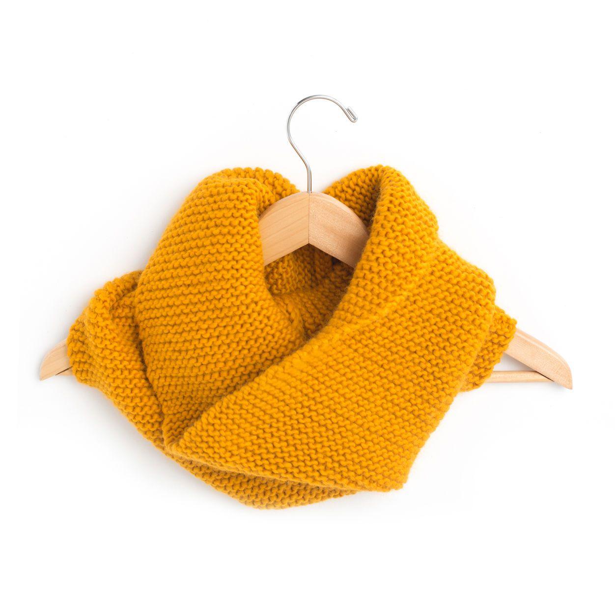 Patons Garter Stitch FREE Cowl Knitting Pattern | Knit ...