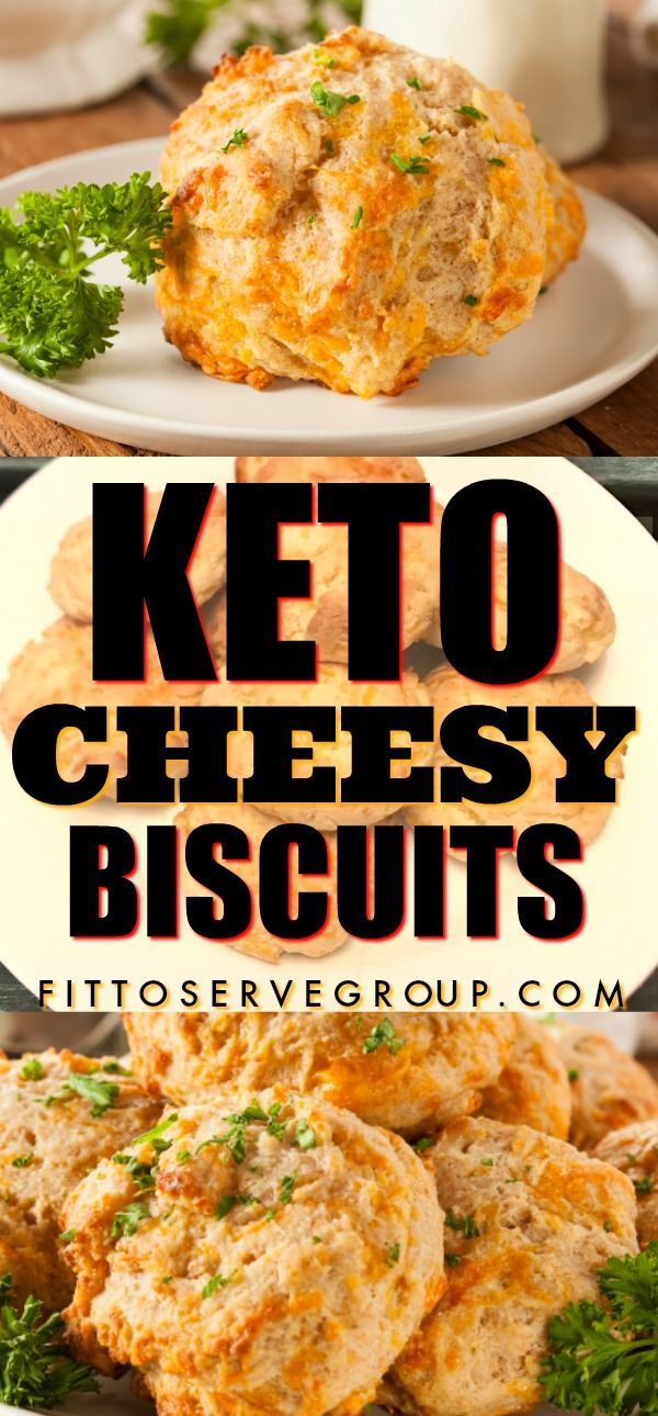 These low carb gluten-free keto cheesy biscuits are made with almond flour, cheddar cheese, and sour cream. And they are so yummy, that even your non-keto family and friends won't be the wiser. I declare that these keto cheesy biscuits will have you never eating a regular high carb biscuit again. #ketobiscuits #ketocheddarbiscuits #sourcream