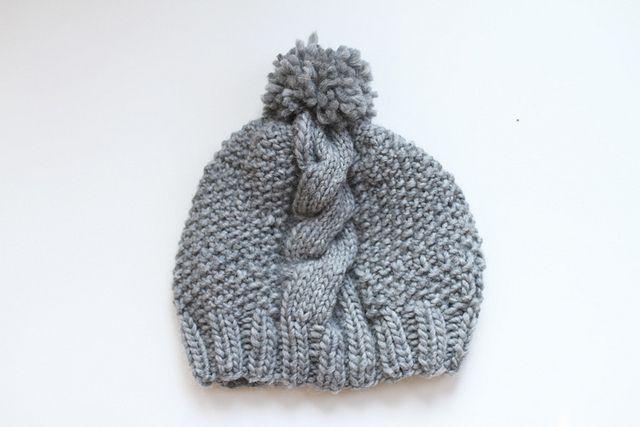 Cable Knit Hat by sah-rah.com, via Flickr