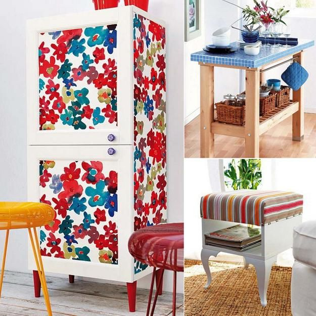 painting designs on furniture. brightly painted wood furniture decoration ideas to recycle and upcycle painting designs on