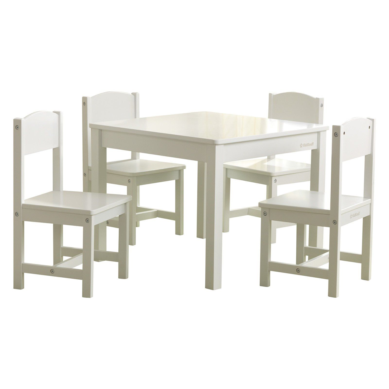 Kidkraft Farmhouse Table And 4 Chair Set Kids Table And Chairs