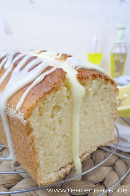 Zitrone-Mascarpone-Kuchen mit Limoncello-Guss   Foodblog rehlein backt