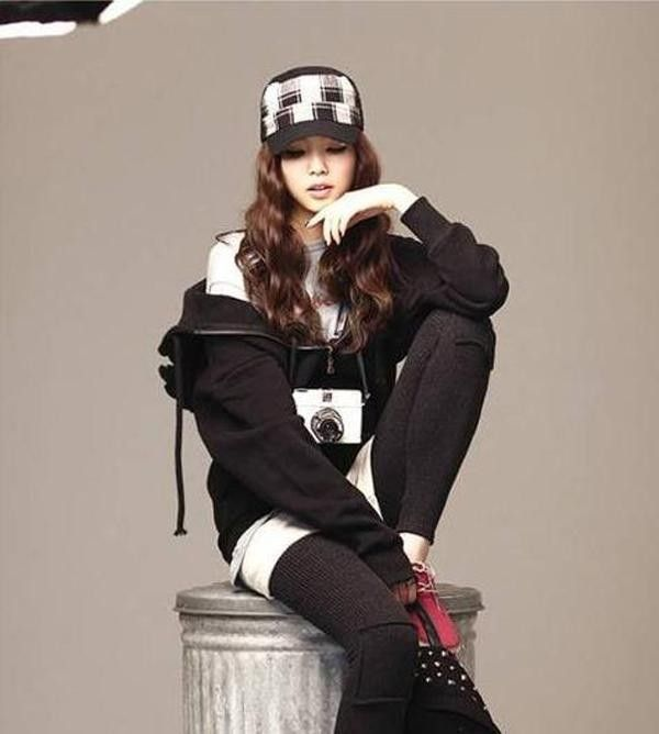 High Quality Women Korean Wings Casual Hoodie Jacket Coat tops Outerwear