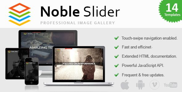 Download Free Noble Slider - Professional jQuery Image