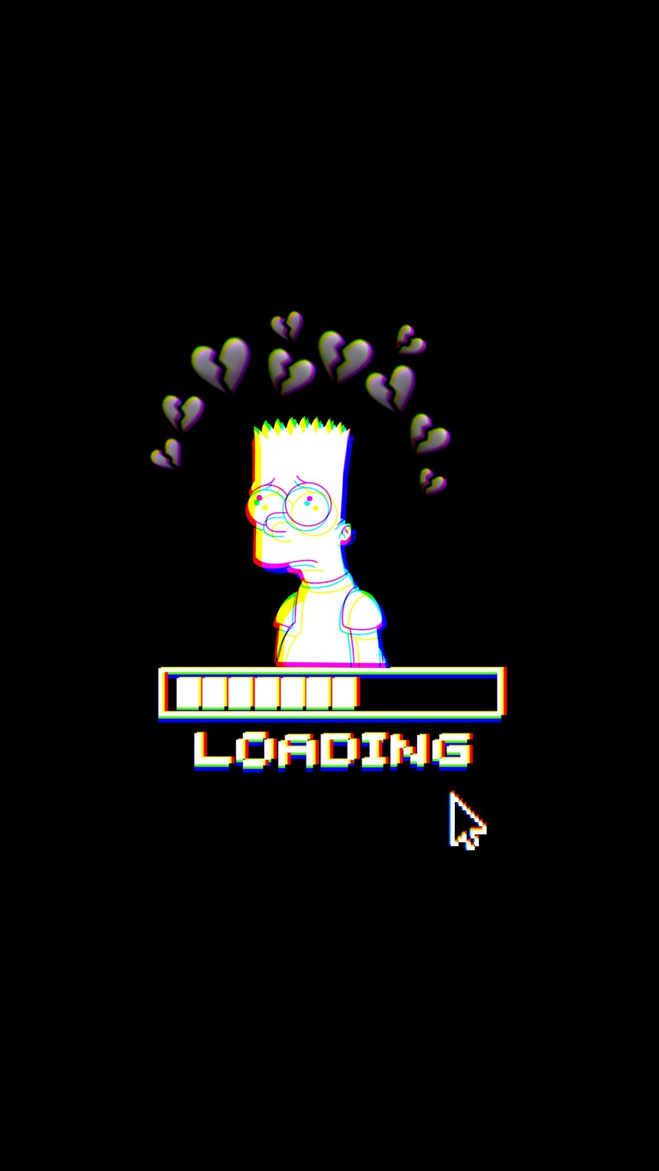 Loading Emoji : loading, emoji, Freetoedit, #aycaramba, #heartbroken, #loading, #glitch, #wallpaper, #background, #remixit, Glitch, Wallpaper,, Emoji, Wallpaper, Iphone