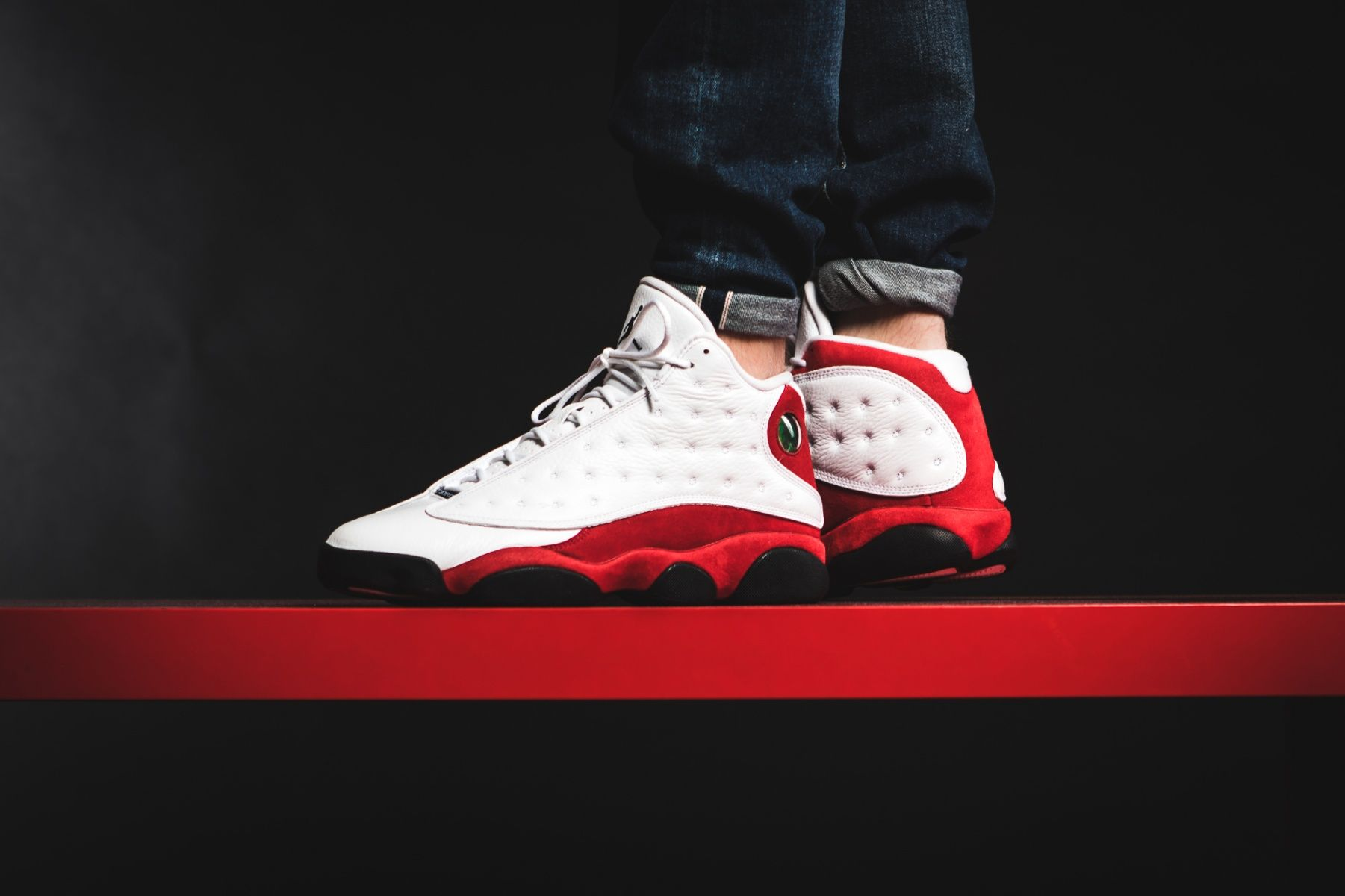 Nike Air Jordan 13 Retro OG (414571-122) Chicago 2017 White Varsity ... 215e3a442