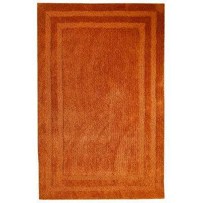 Affinity Home Collection Florida Rust Area Rug Rug Size: