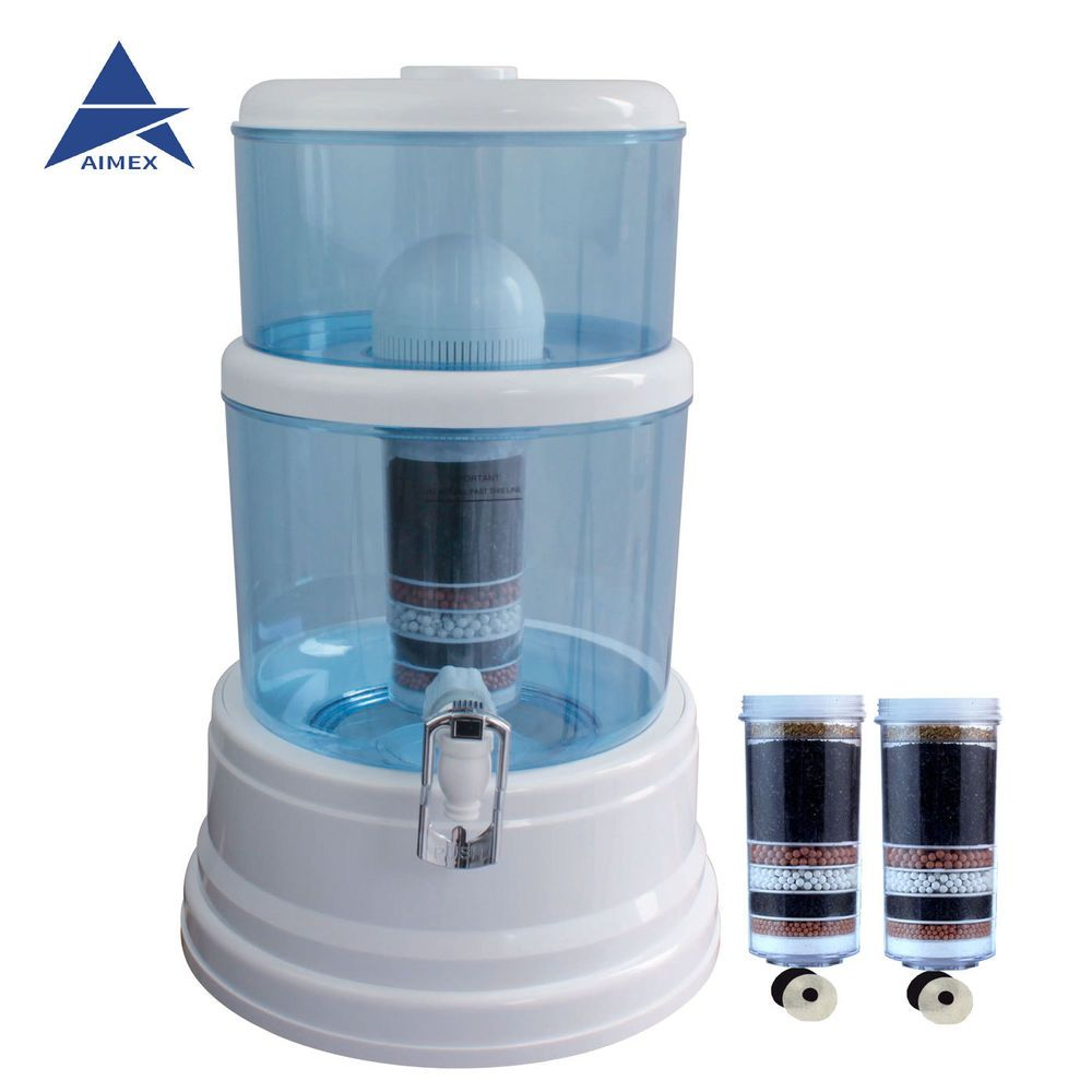 Details About 8 Stage Water Top Ceramic Carbon Mineral Bottle