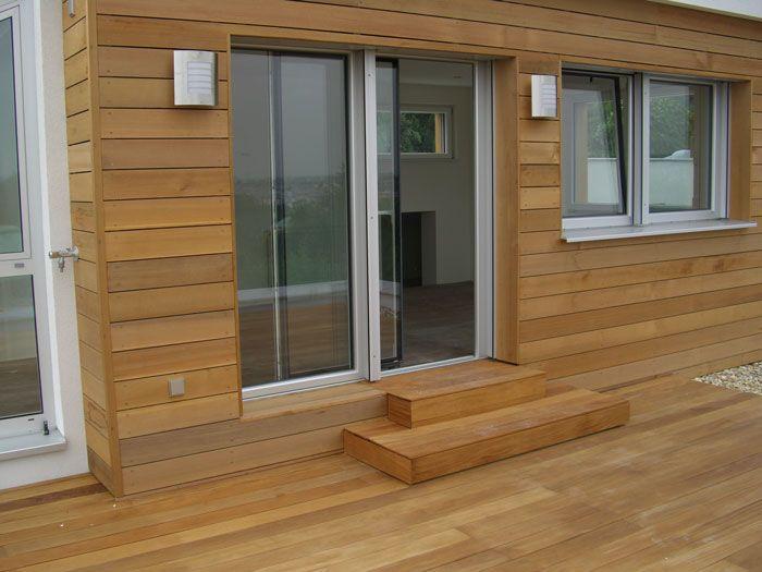 pin von iva petrounova auf haus pinterest haus terrasse und holzverkleidung. Black Bedroom Furniture Sets. Home Design Ideas
