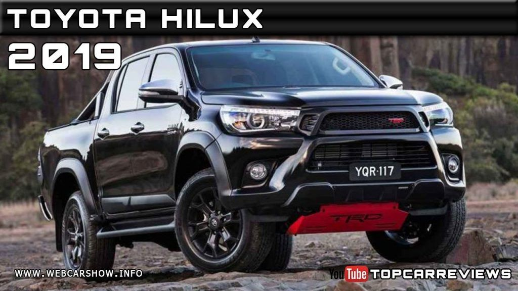 New 2019 Toyota Bakkie Pictures Release Car 2019