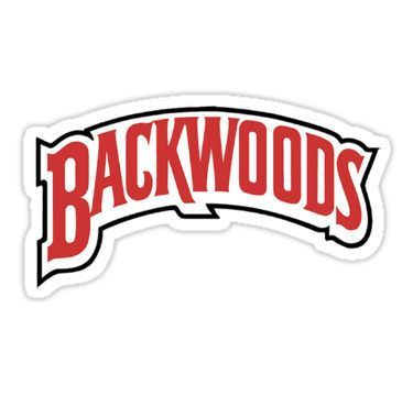Backwoods Sticker in 2019 Stickers, Logo sticker, Logos