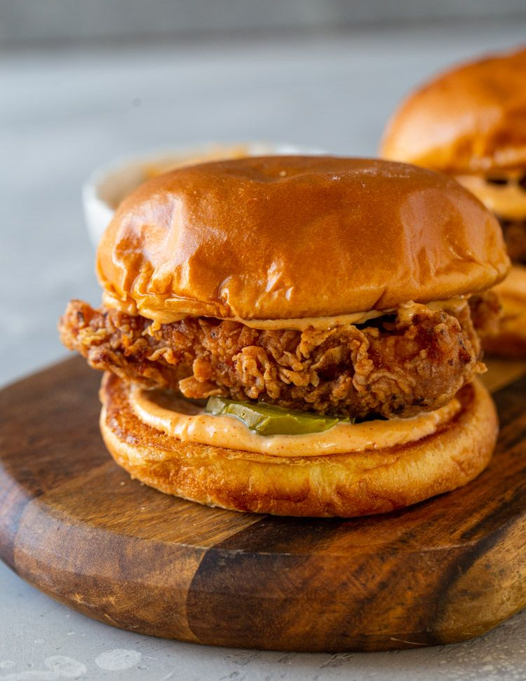 DIY Popeyes Chicken Sandwich Recipe | Yummly #sandwichrecipes