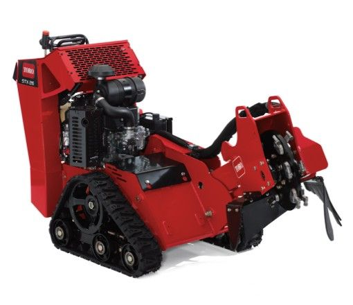 Rent our Toro TRX26- Take out your stumps in an afternoon.