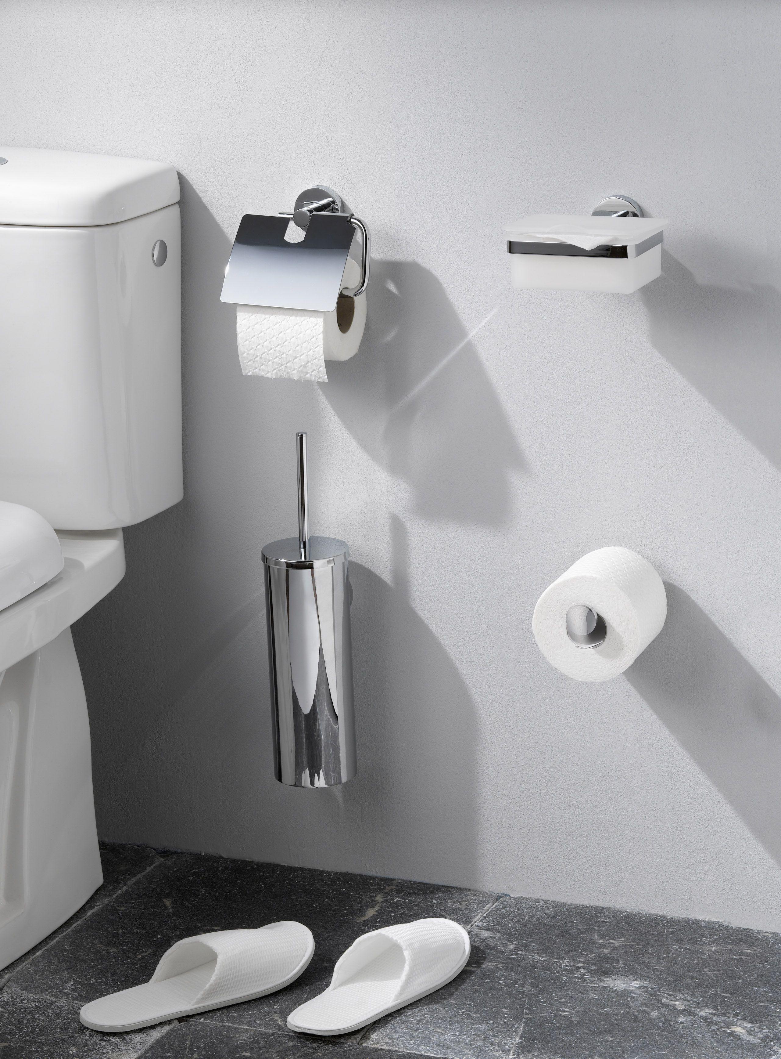 Beautiful chrome, Komos range of coordinated bathroom accessories ...