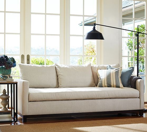 Awe Inspiring Catalina Upholstered Sofa Pottery Barn Home Sofa Ocoug Best Dining Table And Chair Ideas Images Ocougorg