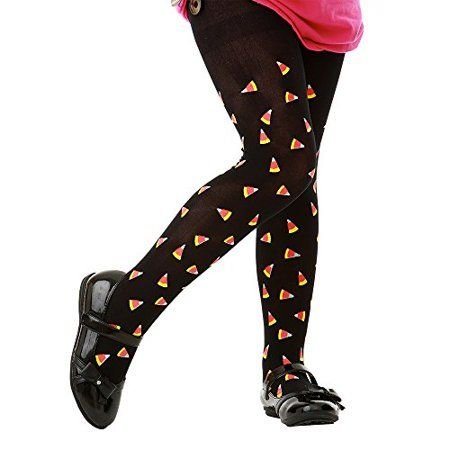 520a2809f Inc. Black Mid-Rise Candy Corn Halloween Children s Cosplay Costume Tights