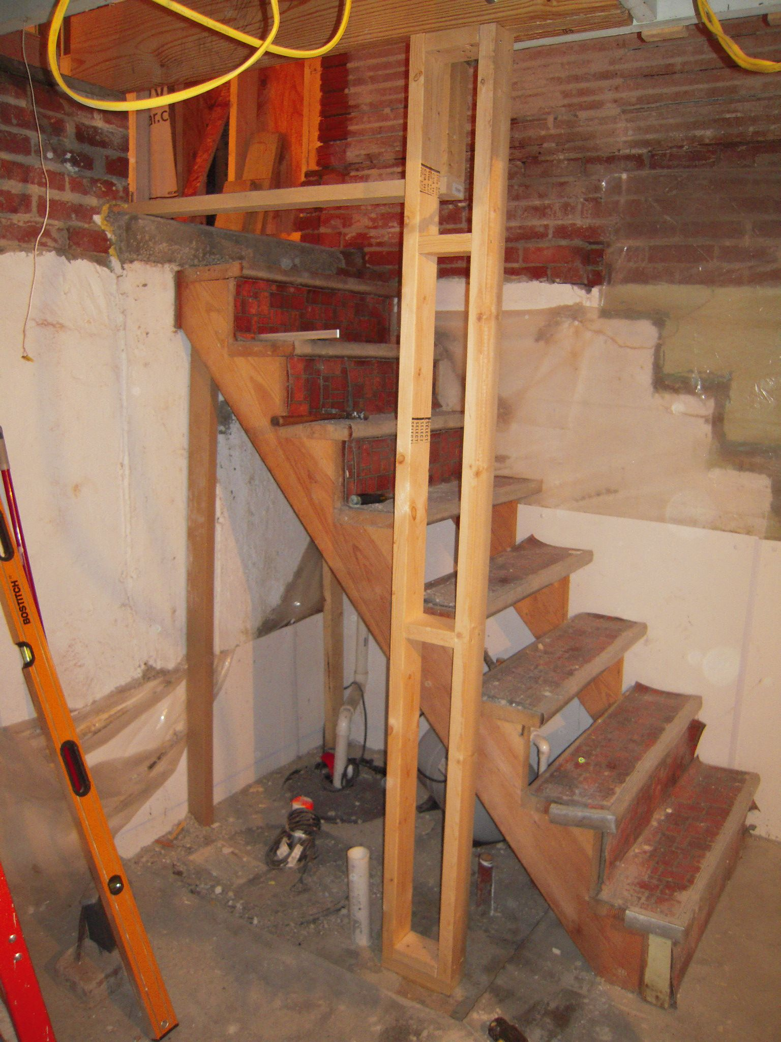 Best Steep Basement Stairs Adventures In Remodeling 400 x 300