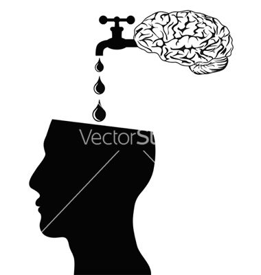 Brain supply water into head vector by huhulin - Image #1021466 ...