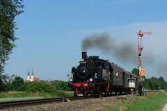 Historische Rundfahrten zu Pfingsten  Der Bayerische Localbahn Verein e.V. veranstaltet am Pfingstsonntag und Pfingstmontag historische Sonderzugfahrten mit einer alten Dampflok. #Muenchen #Event