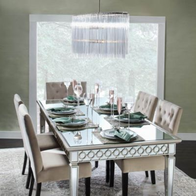 Z Gallerie Tufted Dining Chair