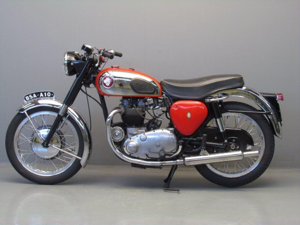 Bsa 1958 A10 Super Rocket 650cc Vintage Motorcycles Bike Bobber