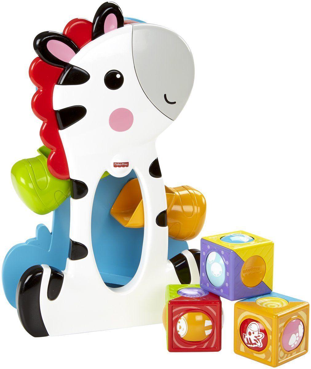 Fisher price roller blocks tumblin zebra the toy shop