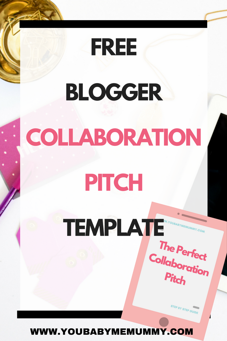 How To Find Bloggers To Collaborate With  Pitch Template Download