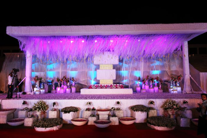 Pin by made in heaven the wedding app on lighting pinterest lights wedding reception decorations stage design flower decoration staging mumbai set design role play scenic design bombay cat junglespirit Images