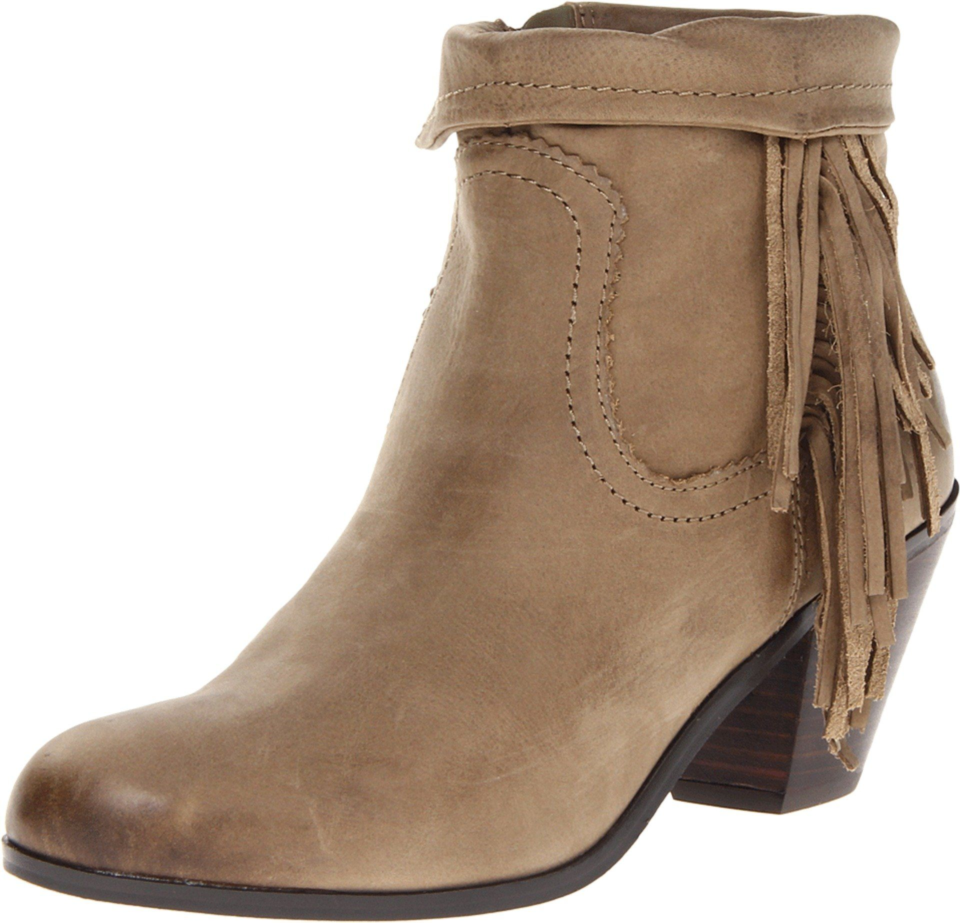 Amazon Com Sam Edelman Women S Louie Ankle Fringe Boot Shoes Boots Fringe Ankle Boots Shoes
