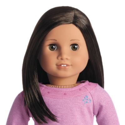 Truly Me Doll Medium Skin Dark Brown Hair Brown Eyes Love To