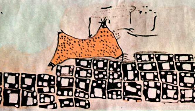 Peinture De Çatal Höyük : Volcan Ou Peau De Léopard ? - Pour La