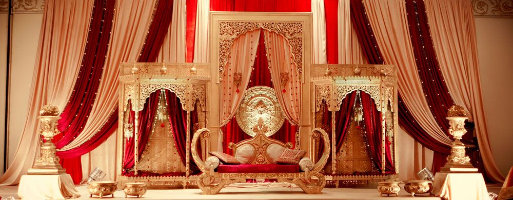 Royal Wedding Decor , Mugal Theme by Dreampartydecor