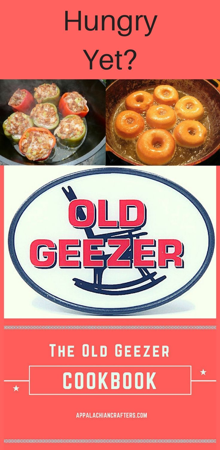 The old geezer cookbook is full of 342 great recipes of old the old geezer cookbook is full of 342 great recipes of old traditional outdoor forumfinder Choice Image