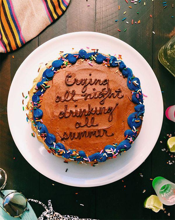 Ebb Flow Drake Cake