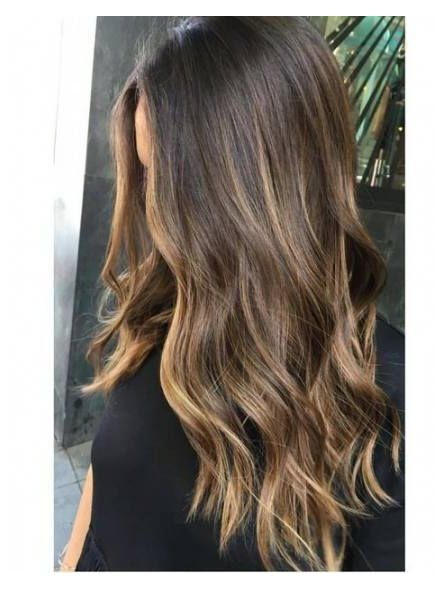 blonde and brown hair color balayage sunkissed