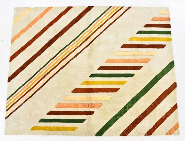 Edward Fields 1970 S Custom Wool Area Rug Carpet On
