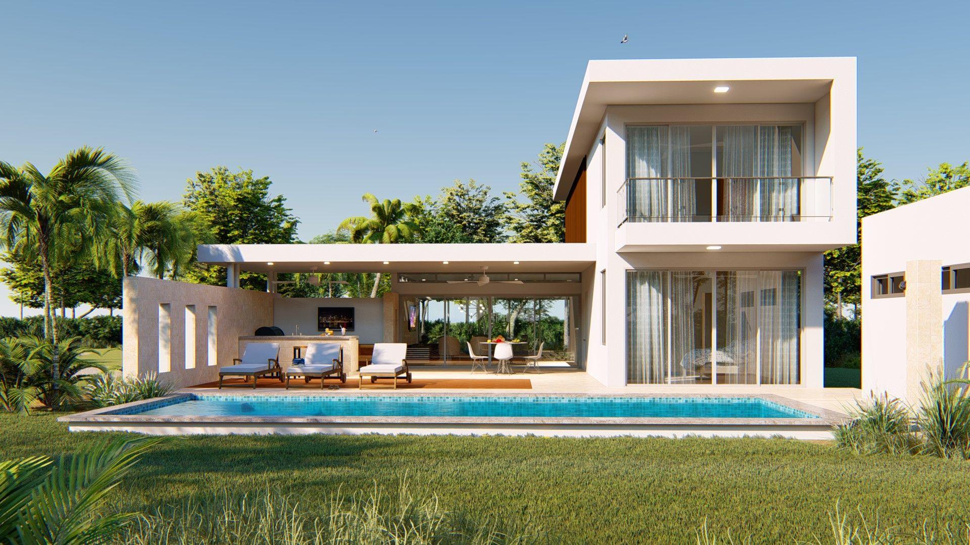 Villa Wave, rendered in Lumion 8 by Reynaldo Acevedo