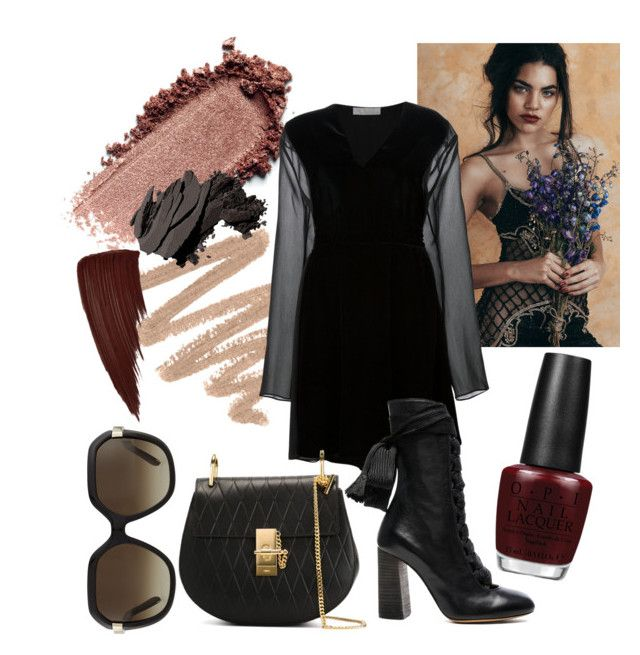 70's Inspiration by rachel-w14 on Polyvore featuring polyvore, fashion, style, Chloé, Bobbi Brown Cosmetics, OPI, women's clothing, women's fashion, women, female, woman, misses and juniors
