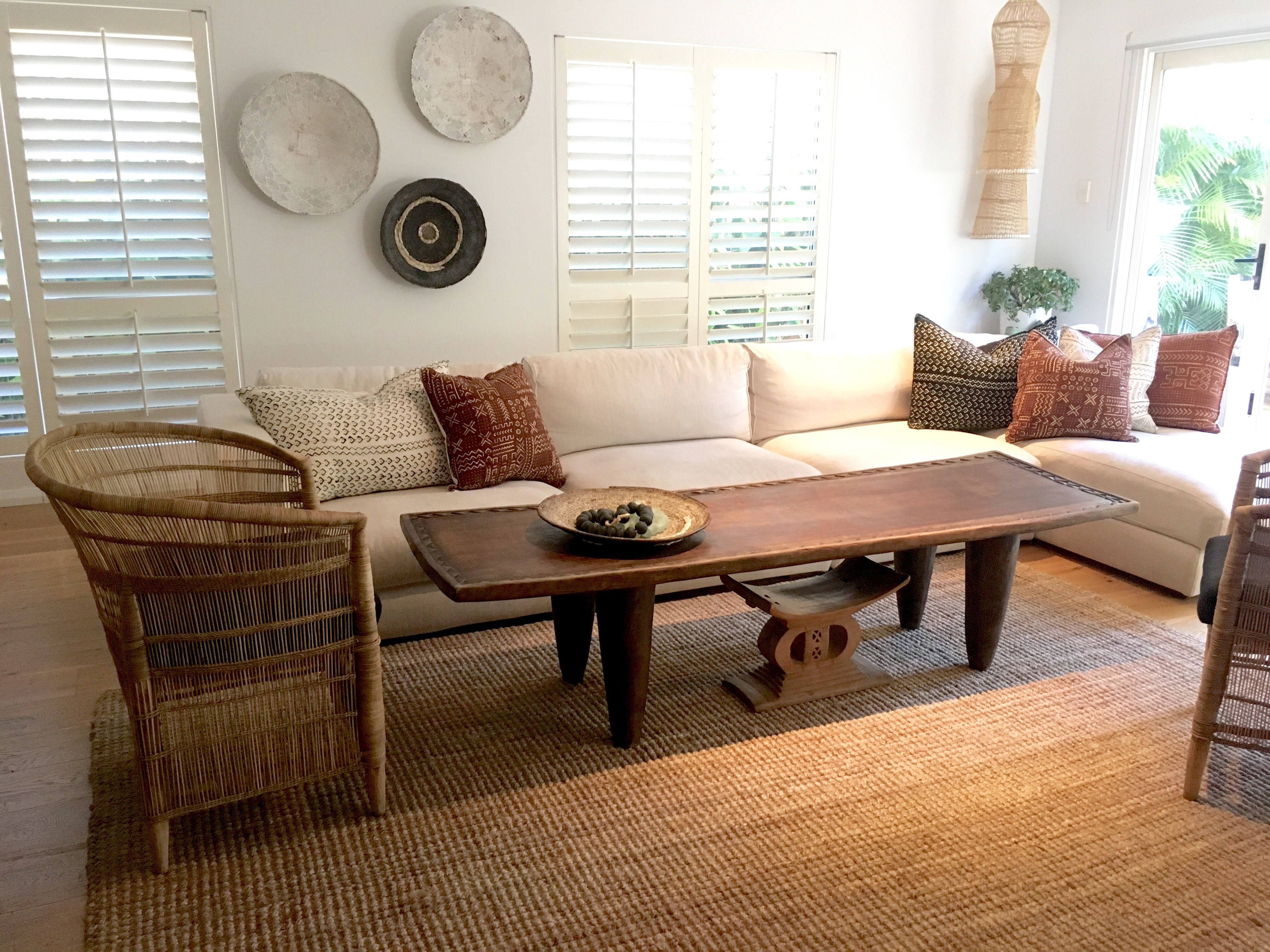 This senufo bed from the ivory coast is the perfect coffee table a functional touch of tribal africa