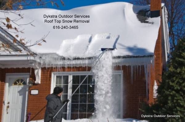Soon Rooftops Across West Michigan Will Be Snow Covered Call Roof Cleaner At 616 240 3465 To Have The Snow Safely R Snow Removal Roof Collapsing Roof Cleaning