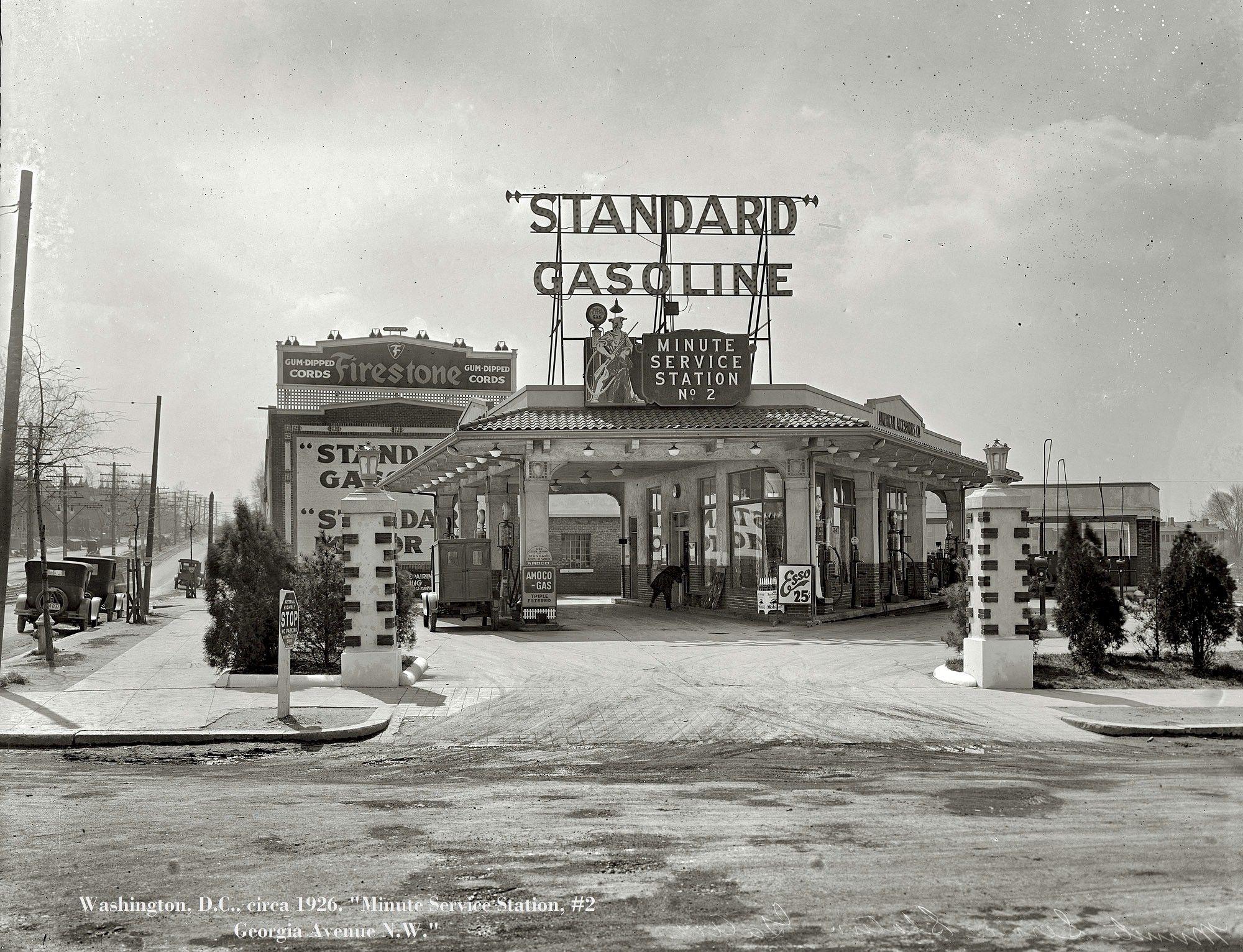 1926 standard oil minute service station no 2