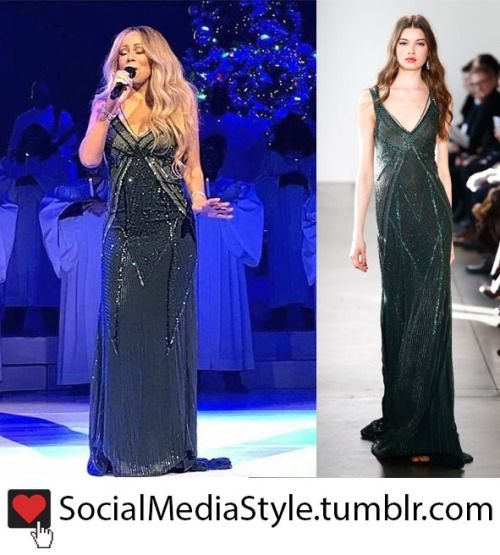 Mariah Carey\'s Beaded Gown | Favorite posts from my celebrity ...