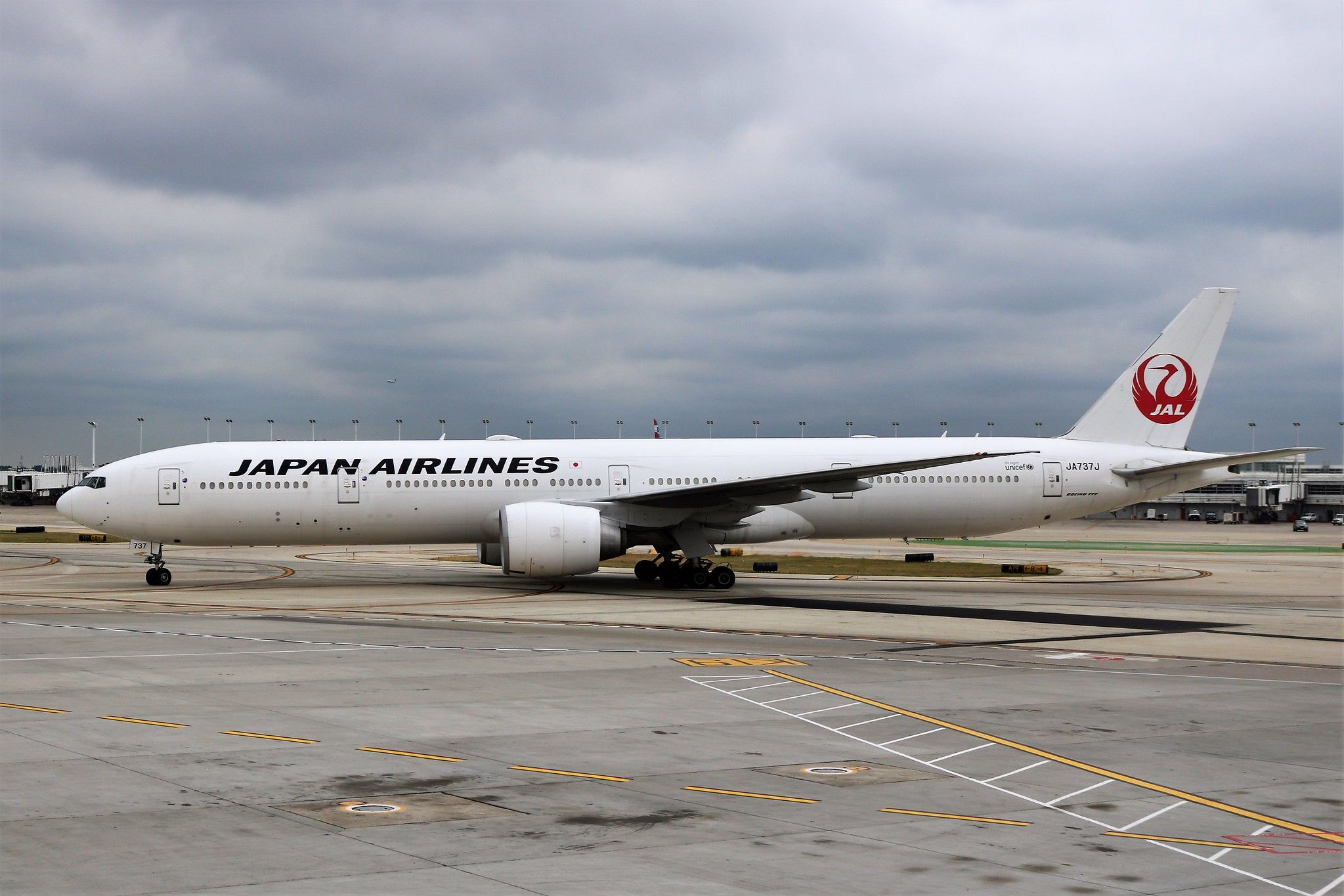 Japan Airlines 777 Japan, Ord, Airlines