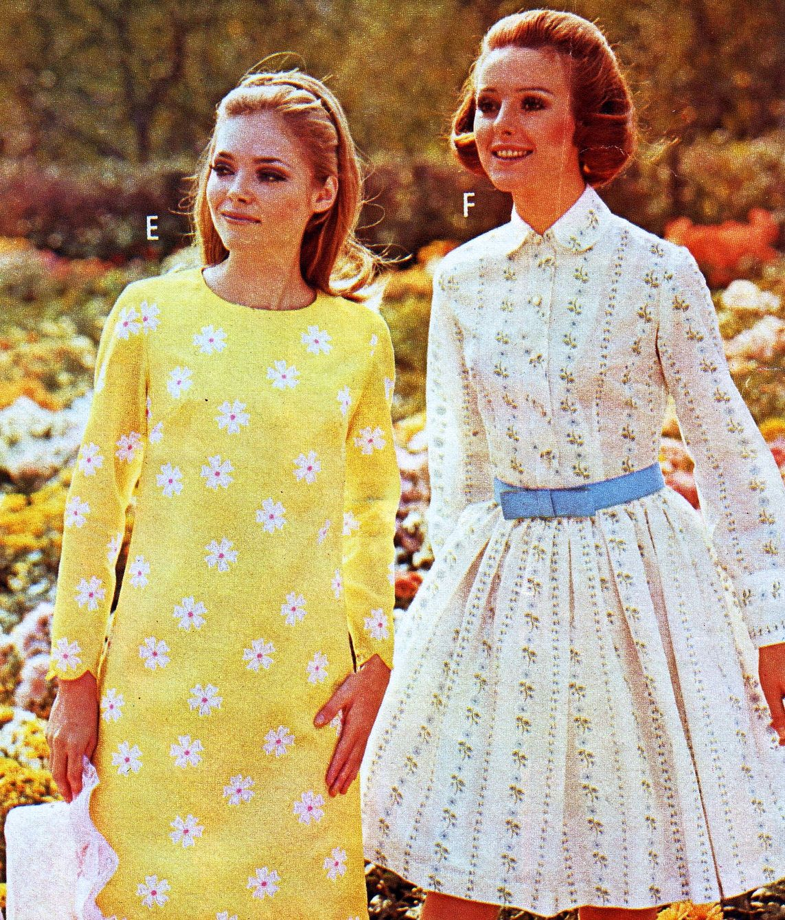 Dresses In The J.C. Penney Catalogue, Spring/Summer, 1969