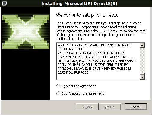 microsoft directx 9.0c gratuit