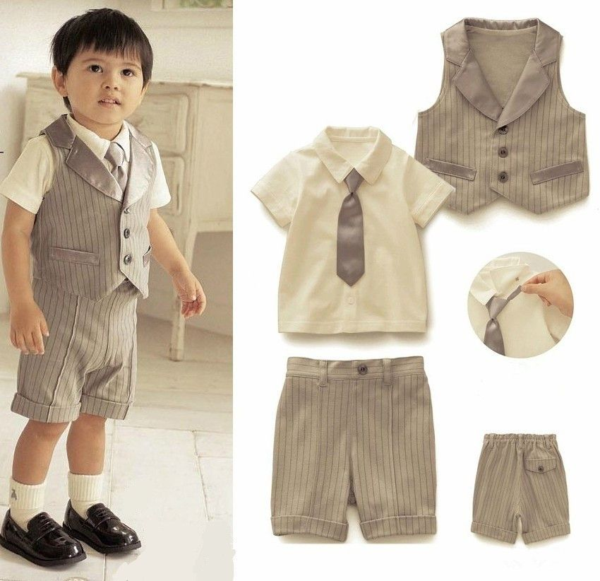 Beautiful Toddler Boy Wedding Attire Photos - Styles & Ideas 2018 ...