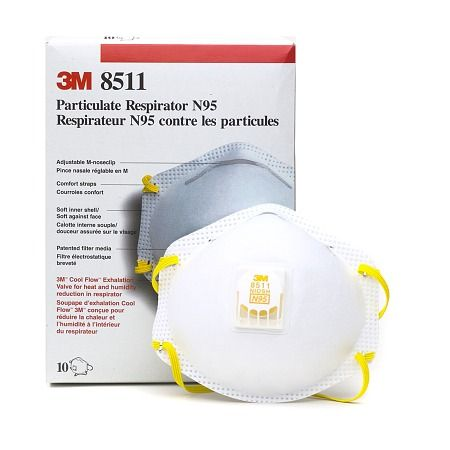 3m particulate respirator face masks n95